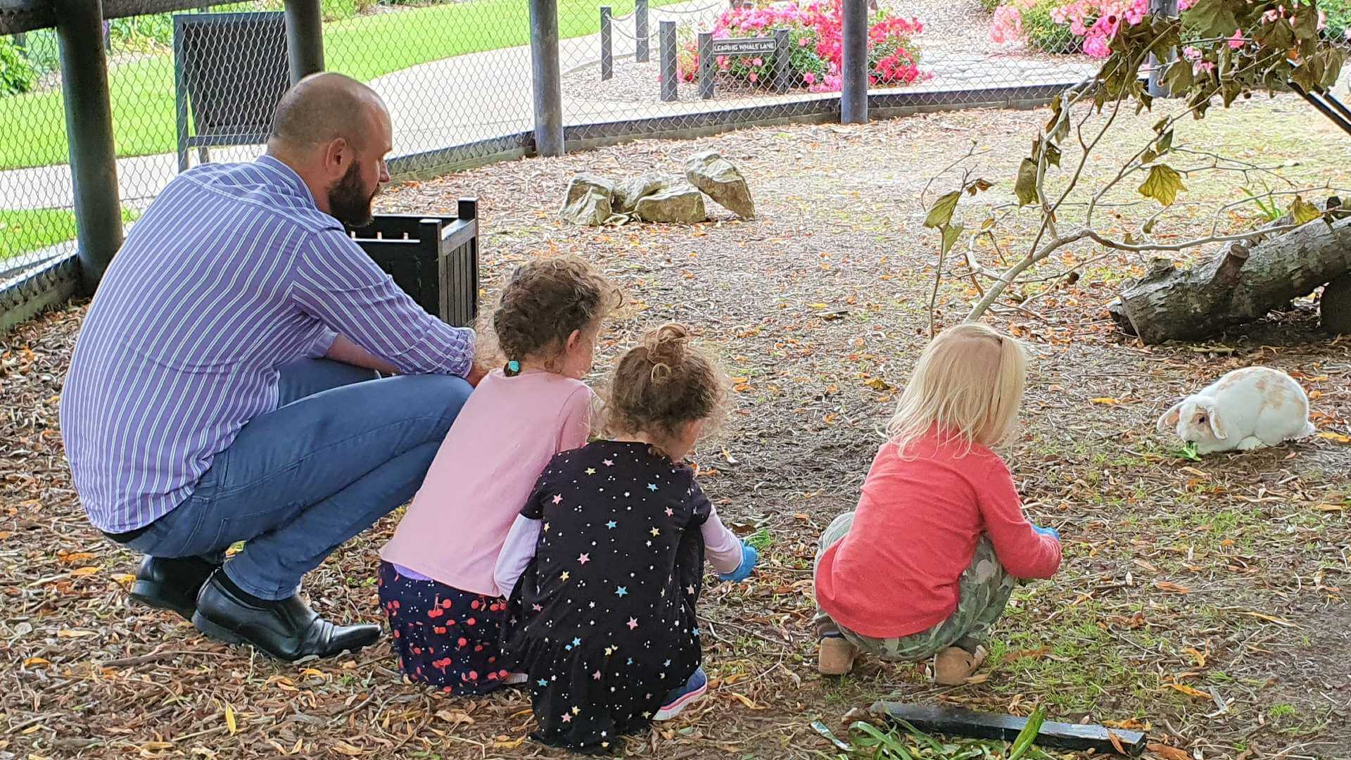 Top 10 things to do with kids - Animal Encounter @ Sculptureum