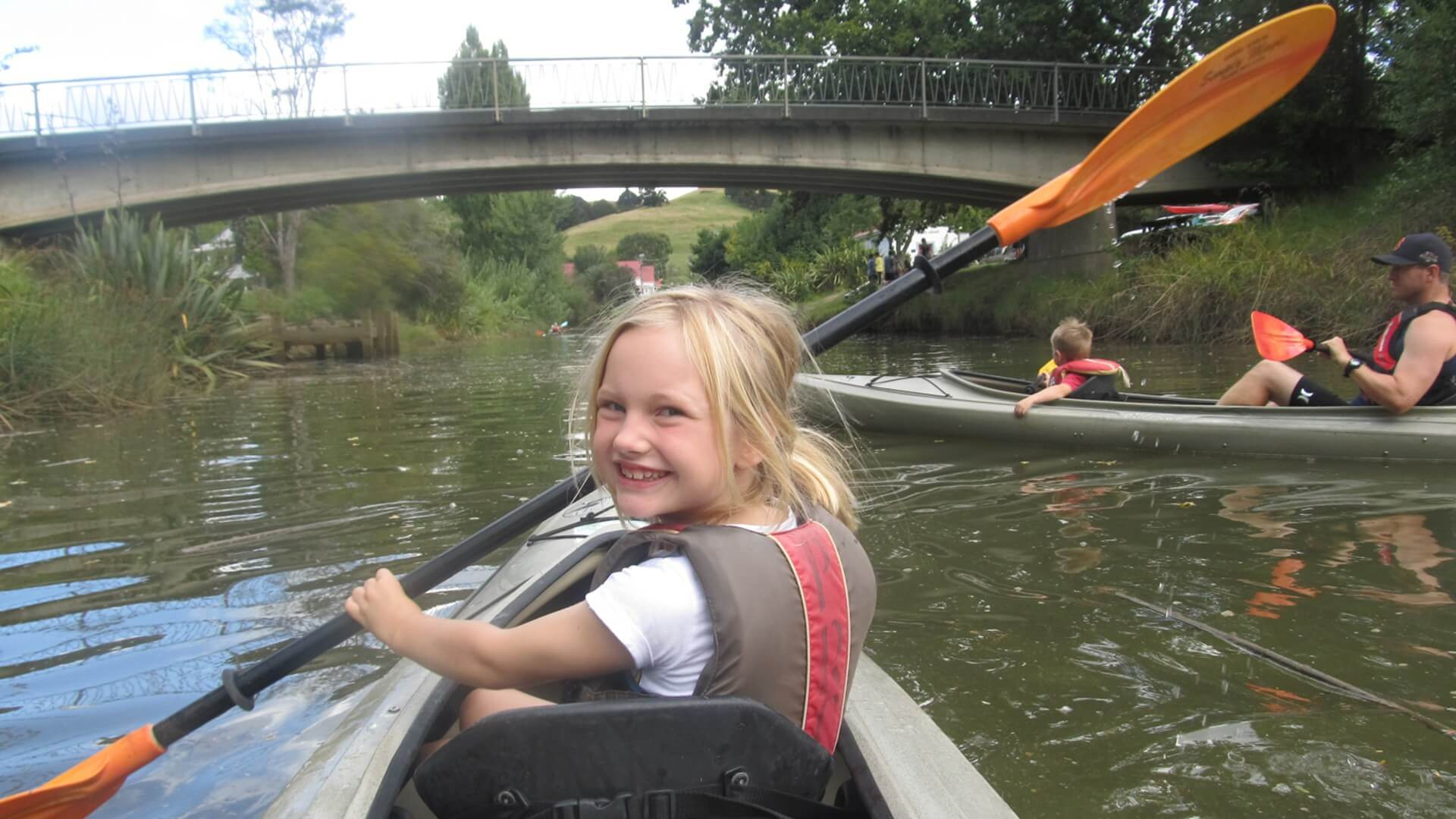 Puhoi River Kayak - Top 10 things to do with kids